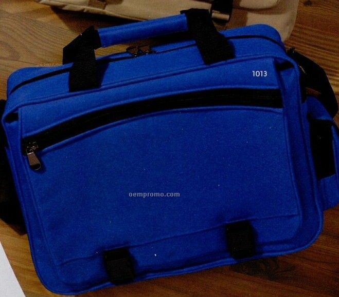 Ultraclub 600-denier Polyester/Pvc Large Briefcase