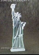 Acrylic Paperweight Up To 16 Square Inches / Statue Of Liberty
