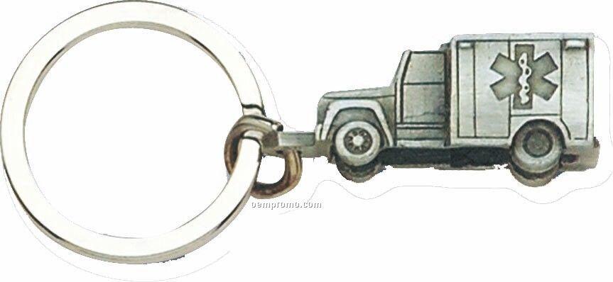 Cast Vehicle Key Tag - Ambulance