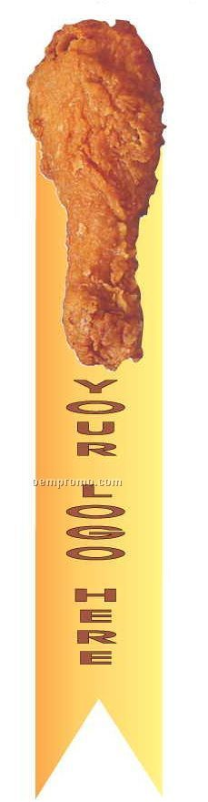 Chicken Leg Bookmark W/ Black Back