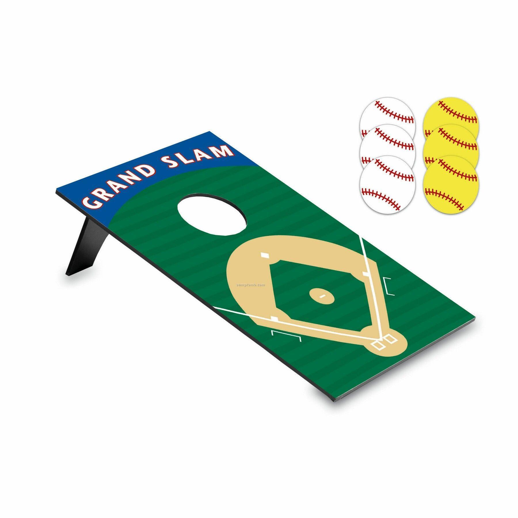 Baseball Bean Bag Throw Game