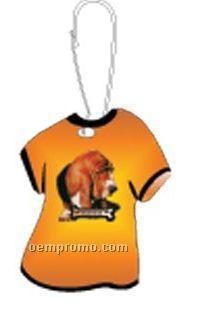 Basset Hound Dog T-shirt Zipper Pull