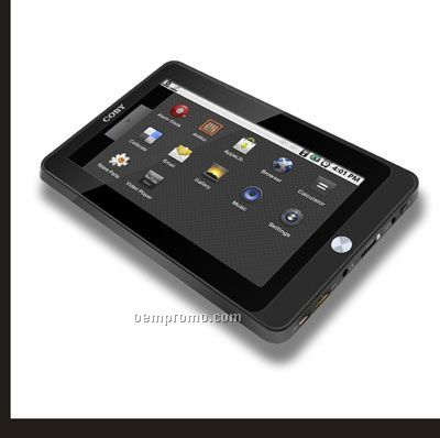 "Coby 7"" Kyros Touchscreen Internet Tablet For Android"