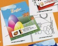 Easter Coloring Book W/ Stock Cover & Stock Coloring Images