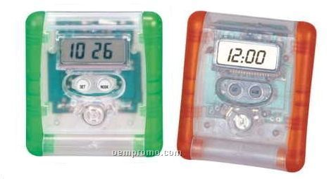 Foldable Travel Alarm Clock