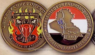 """Round Die Cast Zinc Coins & Medallions (1 1/2"""")"""