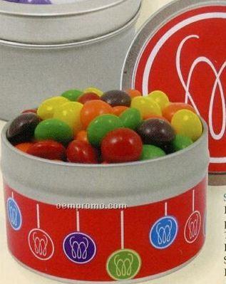 M&M's Chocolate Candy In Quarter Quart Tin