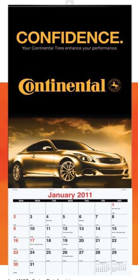 Single Image Monthly Wall Calendar (Custom)