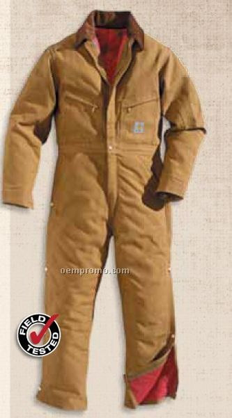 Duck Coverall W/ Quilt Lined