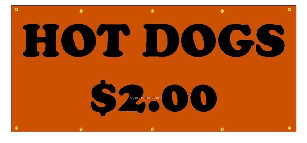 Banner - Gloss - Cut Vinyl - One Side - 13 Oz. - 3' X 20'