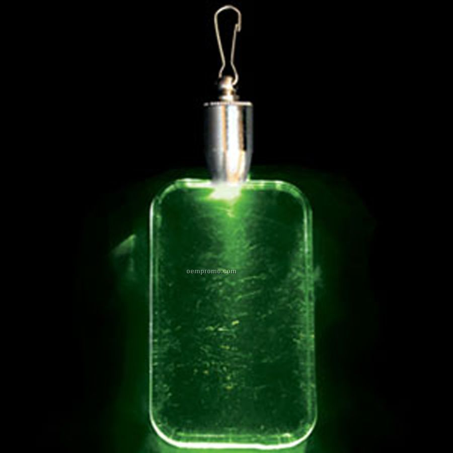 light up pendant with clip dog tag green led china. Black Bedroom Furniture Sets. Home Design Ideas