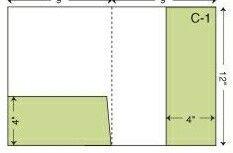 """Custom Presentation Folder (Left Pocket / Right Vertical Pocket) (9""""X12"""")"""