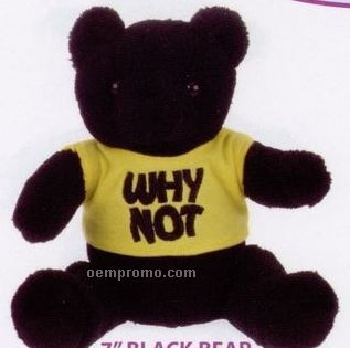 Extra Soft Black Bear Stuffed Animal