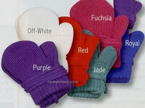 Kindercaps Toddler Magic Stretch Acrylic Mittens