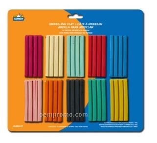 10 Piece Modeling Clay