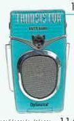 "5-1/4""X1-1/2""X3-1/2"" Aqua AM/FM Transistor Nostalgia Radio"