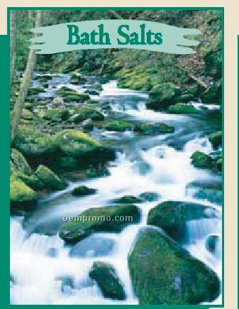 Mulberry Scented Bath Salts In Stream Packet