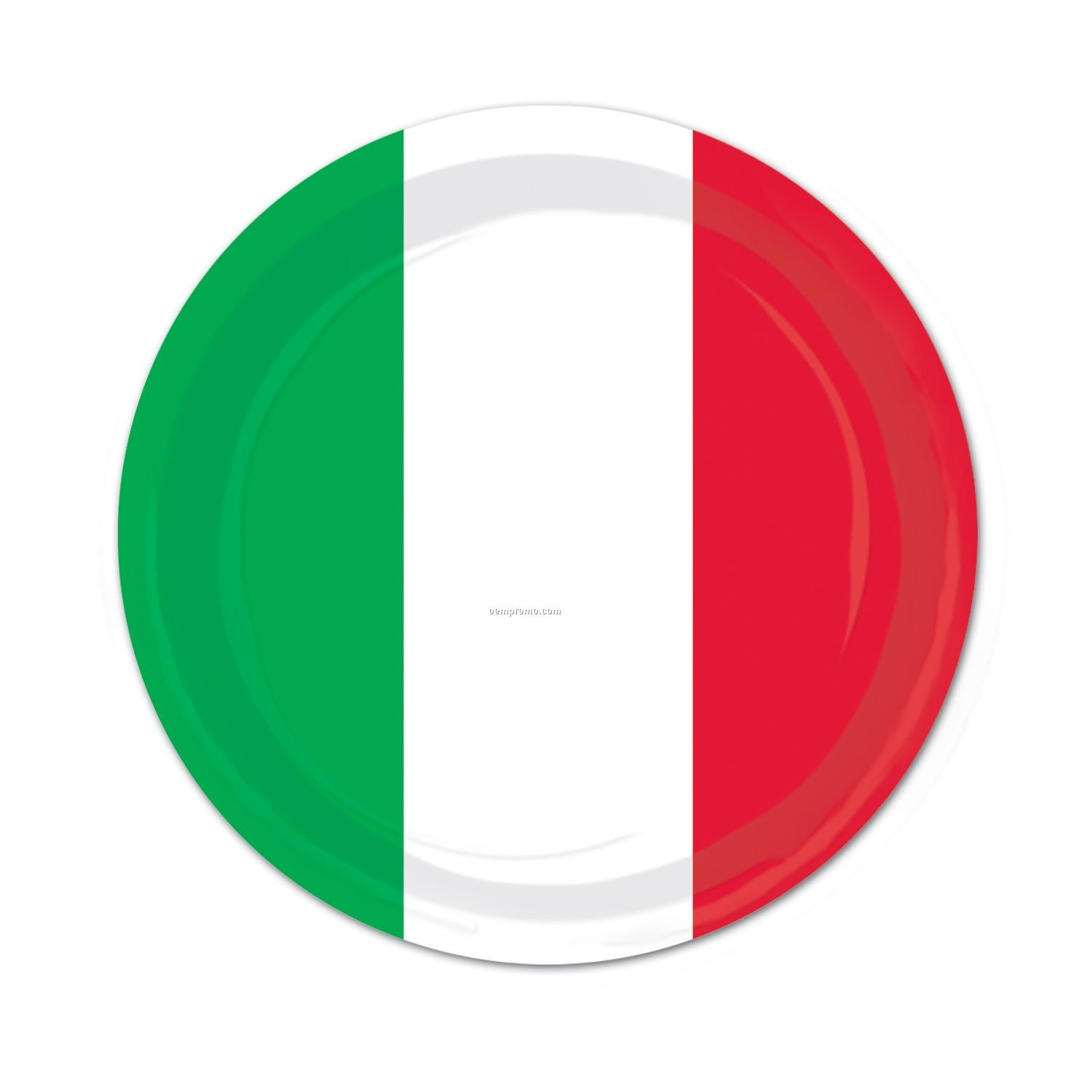 Red/White/Green Plates