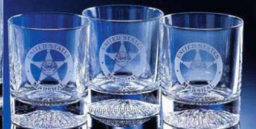 10 Oz. Full 24% Lead Crystal Premier Rocks Glass