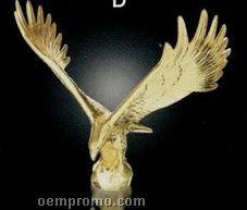 "Majestic Eagle Figurine (8"")"