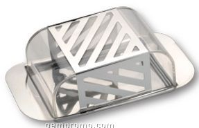 Butter/ Cheese Dish W/ Acrylic Cover