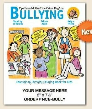 Stock Safety Theme - Bullying Coloring Book