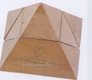 Natural Beige Executive Pyramid Puzzle