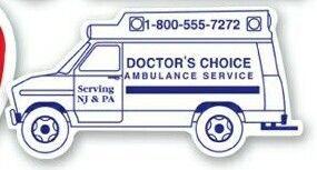 Stock Ambulance Magnetic Noteholder (.034 Thick)