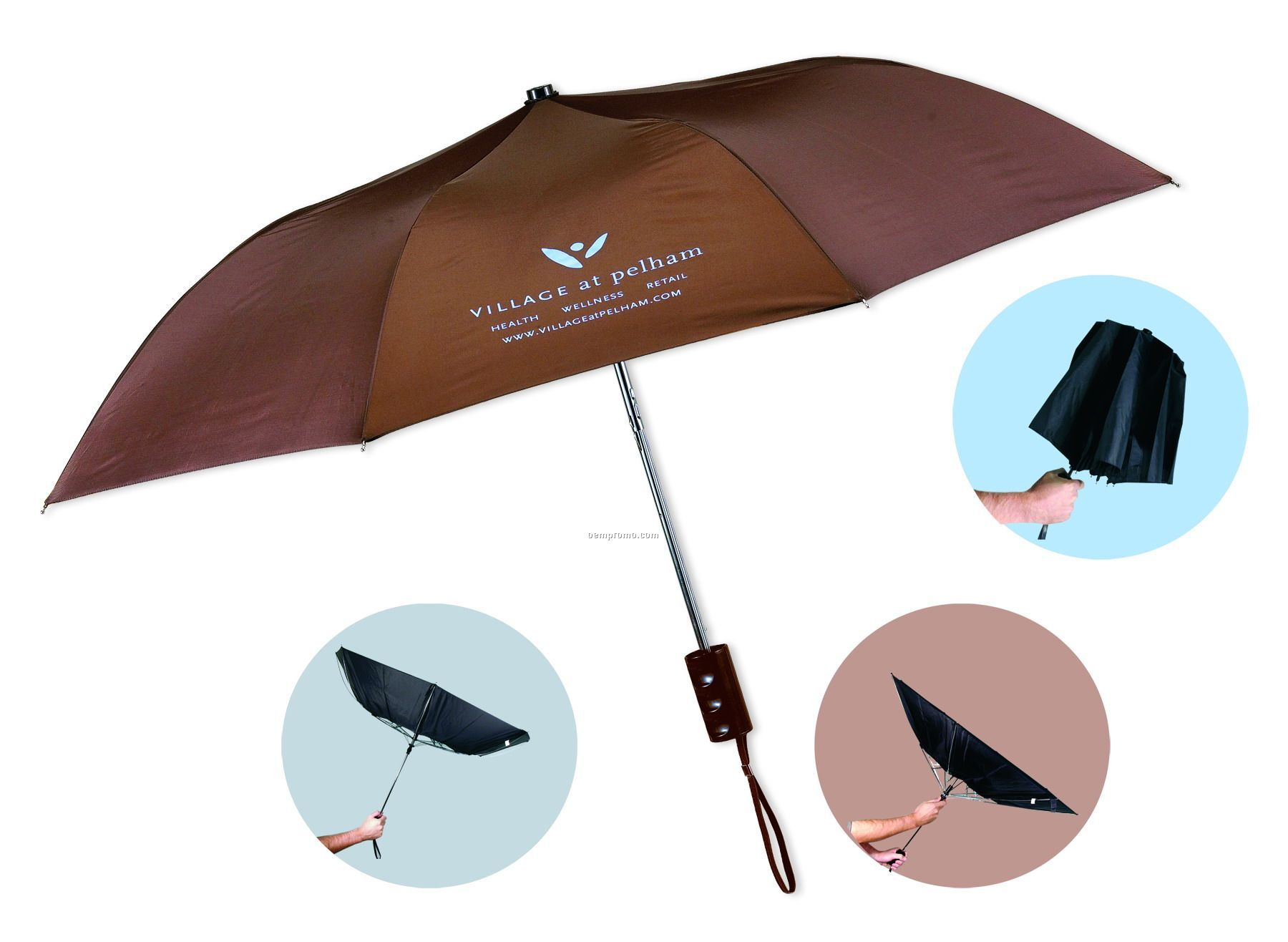 Golf umbrella china wholesale golf umbrella for Wind resistant material