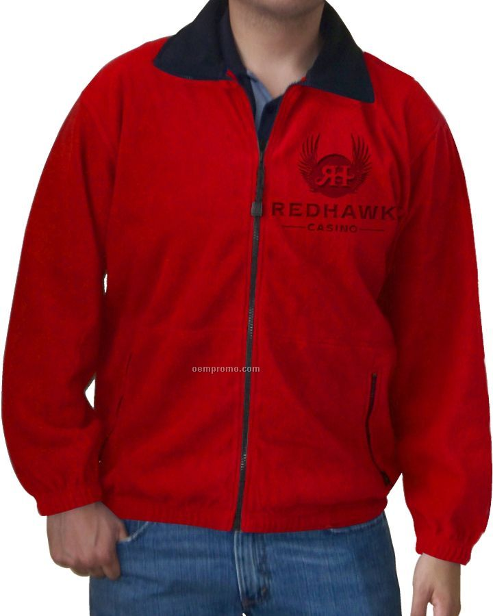Men's Telluride 365 Gram Signature Fleece Jacket (Laser Etching - Xs-xl)