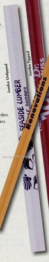 Jumbo Medium White Pencil (Untipped)