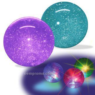 """Mondo Hi-bounce Light Up Glitter Water Ball (4"""")"""
