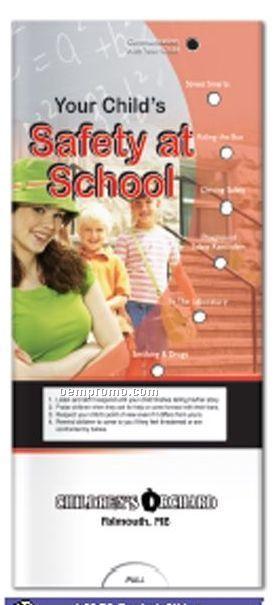 Pocket Slider Chart - Your Child's Safety At School