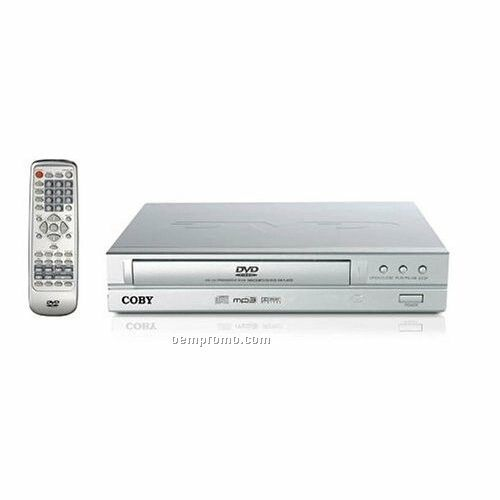 2 Channel DVD Player With Progressive Scan