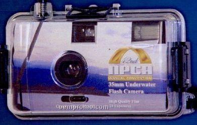 27 Exposure Underwater Flash Logo Camera