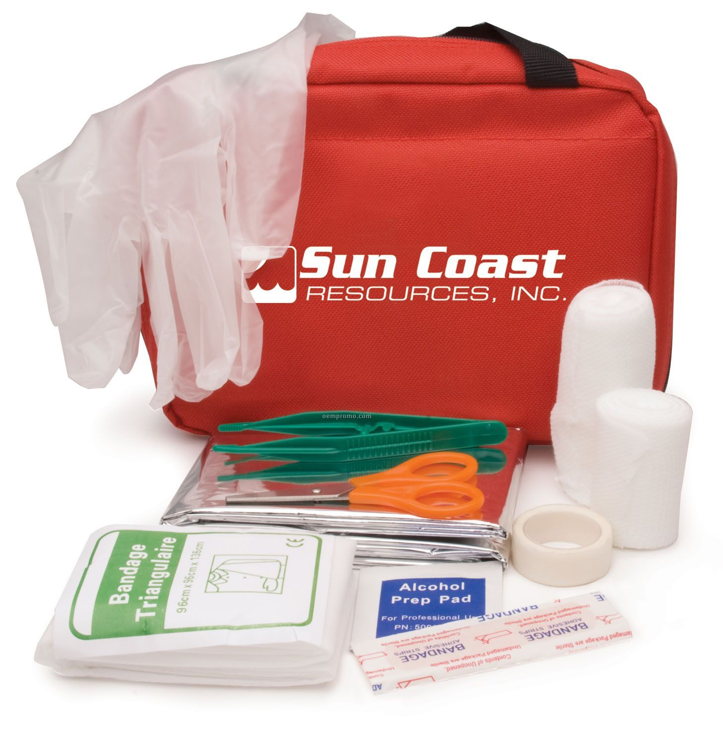 62-piece First Aid Kit In Nylon Carry Case