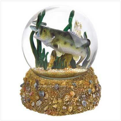 Bass Water Ball Globe