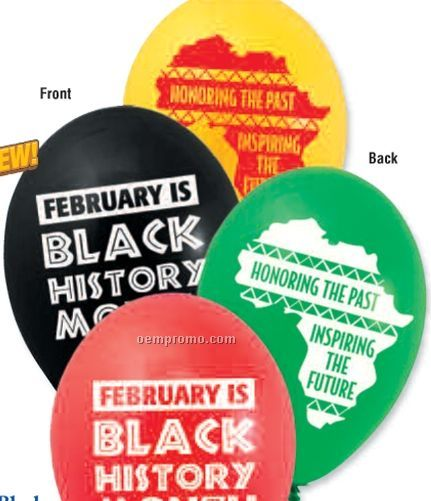 Black History Month Celebration BalloonsChina Wholesale