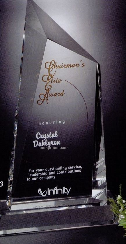 Signature Gallery Crystal Cathedral Peak Award