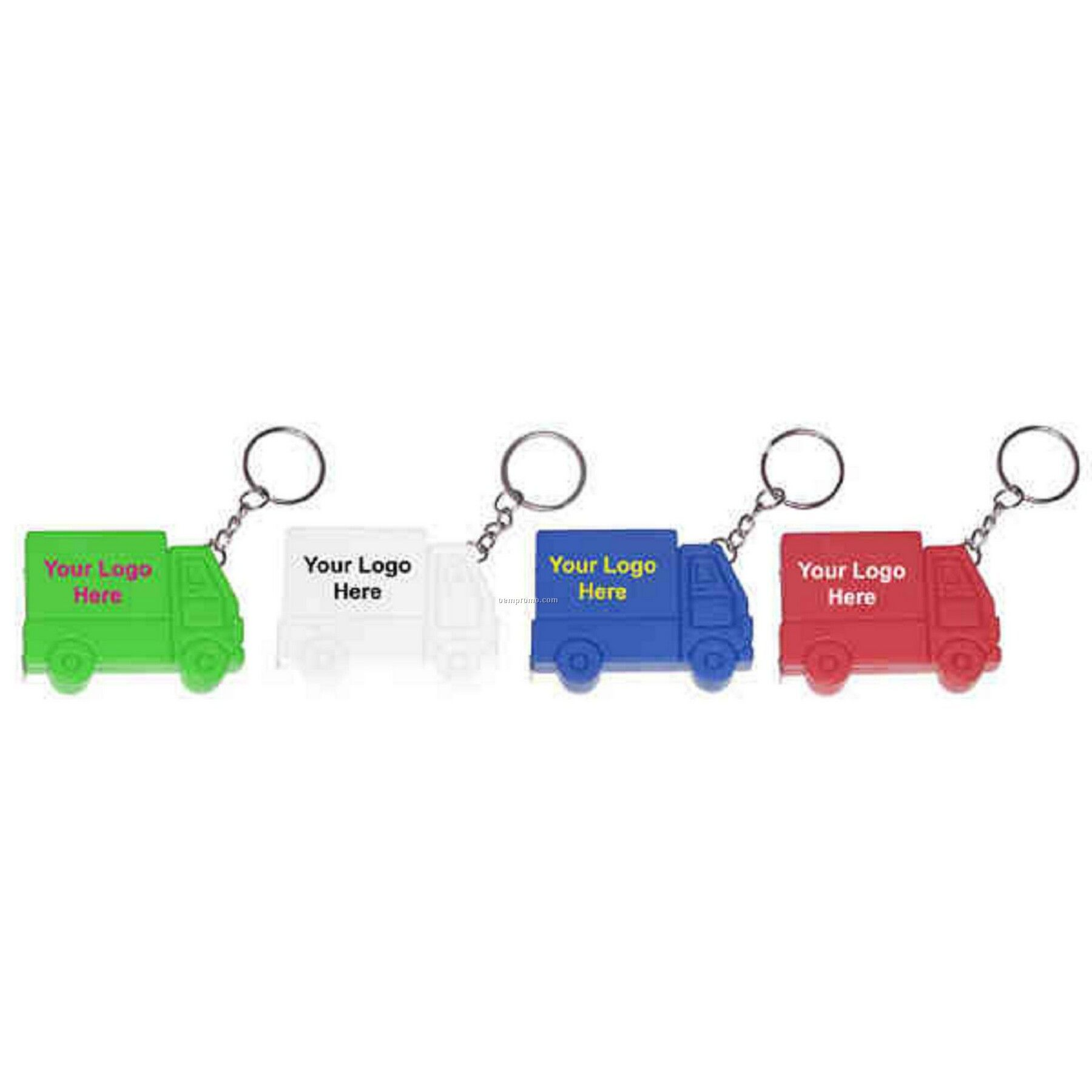 Truck Shape Tape Measure & Key Ring