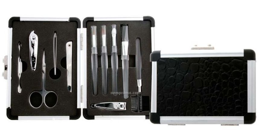 11 Piece Manicure/ Pedicure/ Make Up Brush Set