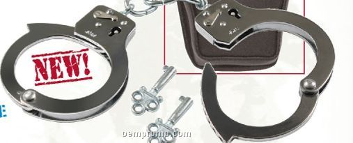 Costume Handcuffs With Case