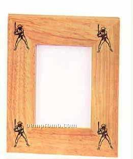 """Custom Picture Frame Collection Baseball Frame(4""""X6"""")"""