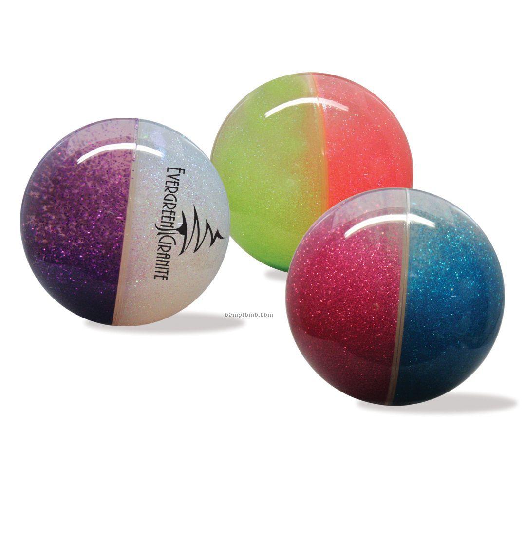"Hi-bounce Glitteracci Aqua Sphere Water Ball (2.5"")"