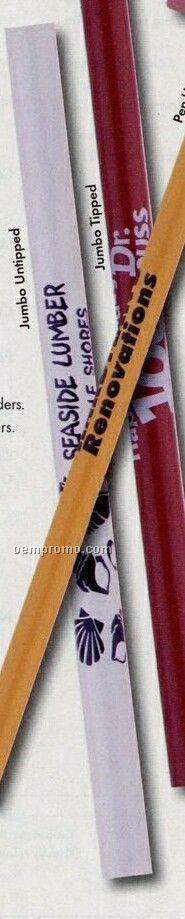 Jumbo Medium Orange Pencil (Untipped)
