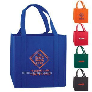 Non-woven Tote With Reinforced Bottom Support Insert