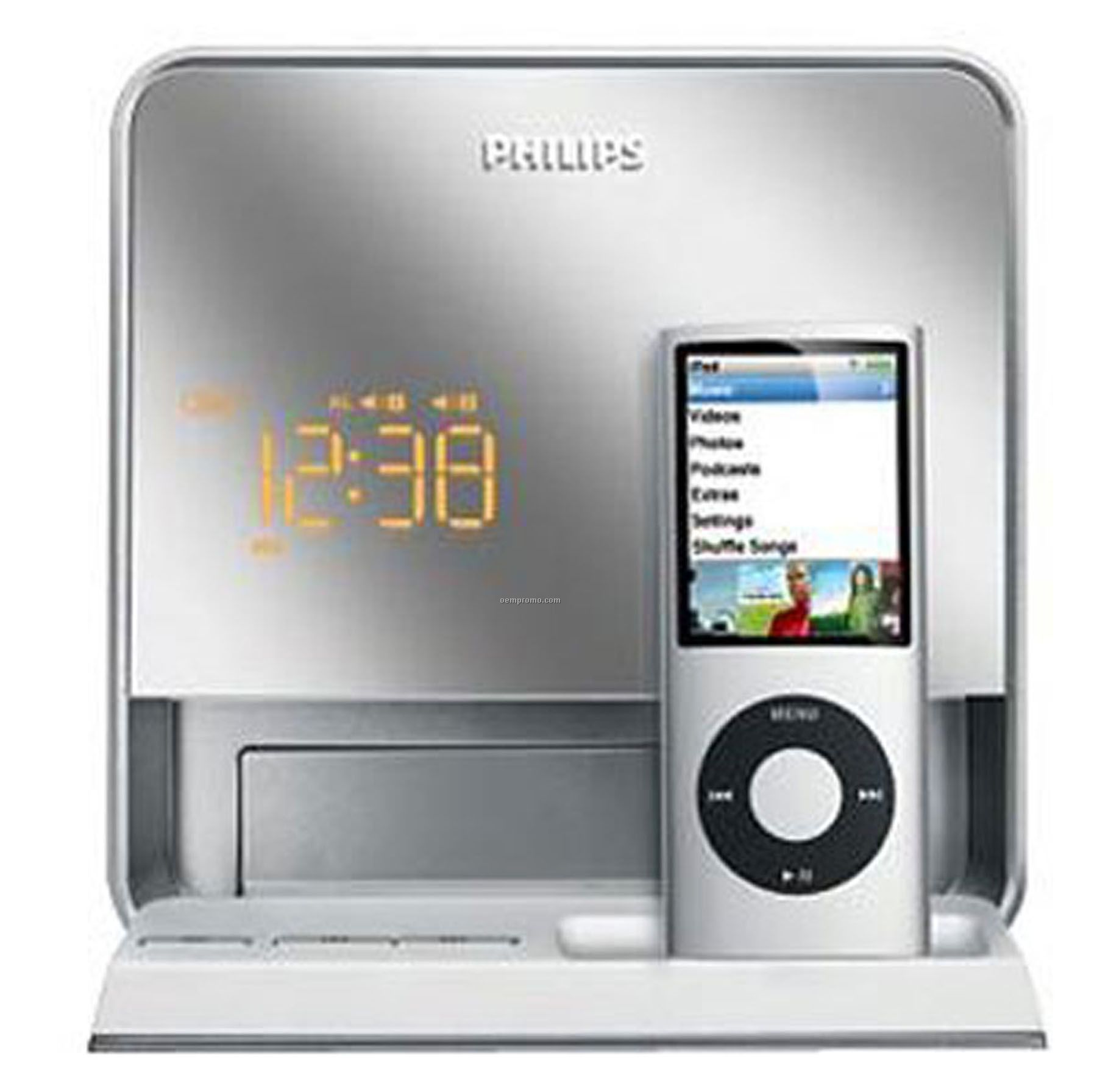 ... Dock Alarm Clock Speaker,China Wholesale Philips Dc19037 Ipod Dock: http://www.oempromo.com/product/Clocks/P/Philips-Dc19037-Ipod-Dock-Alarm-Clock-Speaker-136168.htm