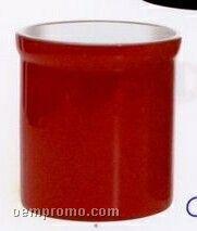 Porcelain Kitchen Utensil Crock (Red)