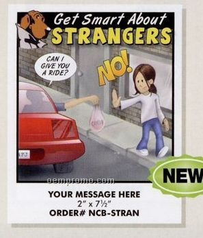 Stock Safety Theme - Get Smart About Strangers Coloring Book