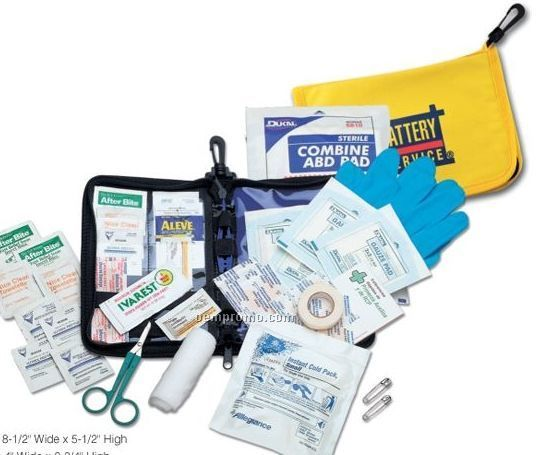Travelers First Aid Kit
